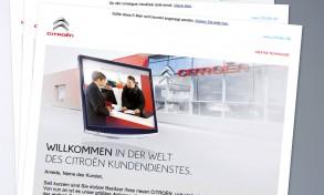 Emailing Citroën