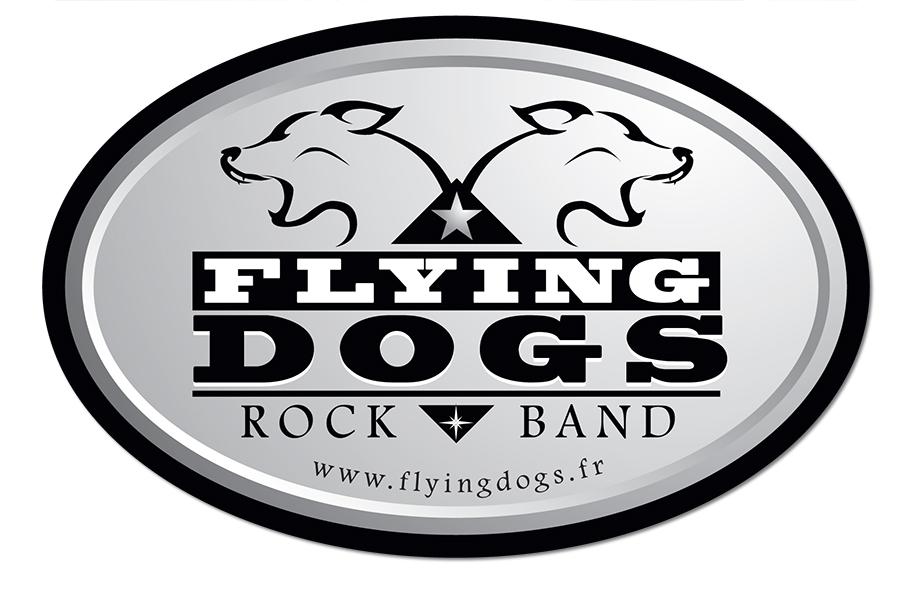Sticker Flying Dogs