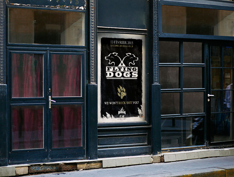 Affiche Flying Dogs