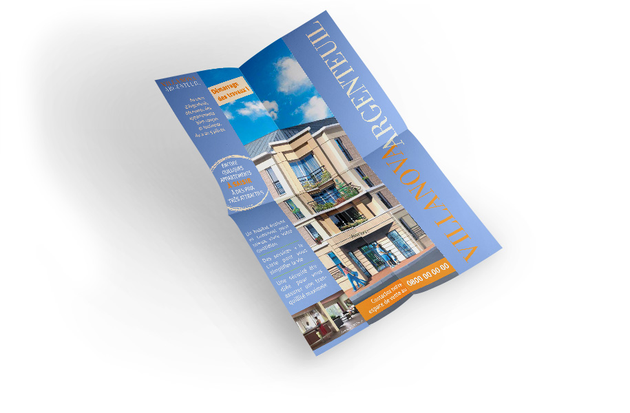 Tract immobilier format A2